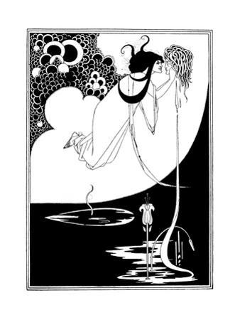 The Climax by Aubrey Beardsley