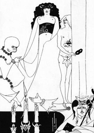 The Entry of Herodias by Aubrey Beardsley