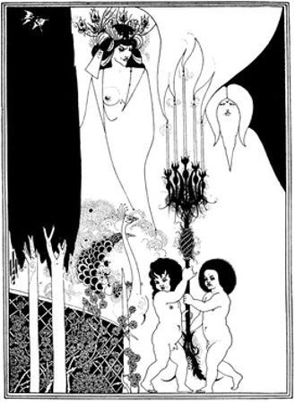 The Eyes of Herod by Aubrey Beardsley