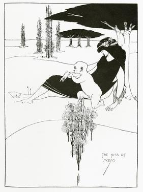 The Kiss of Judas, 1893 by Aubrey Beardsley