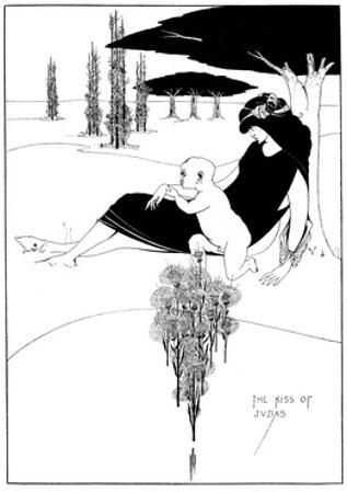 The Kiss of Judas by Aubrey Beardsley