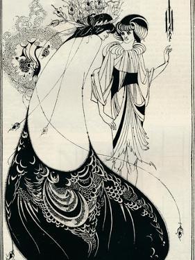 The Peacock Girl, 1893 by Aubrey Beardsley