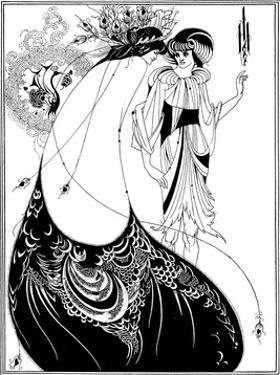 The Peacock Skirt, 1893 by Aubrey Beardsley