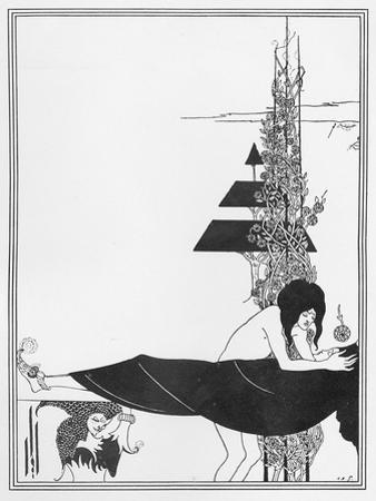 The Platonic Lament, Illustration from 'salome' by Oscar Wilde, 1894 by Aubrey Beardsley