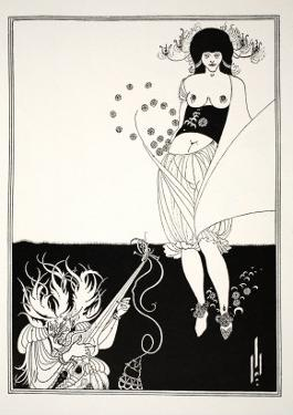 The Stomach Dance, from Salome by Aubrey Beardsley