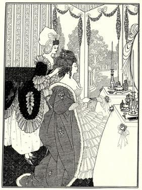 The Toilet (Illustration for the Rape of the Lock by Alexander Pop), 1894 by Aubrey Beardsley