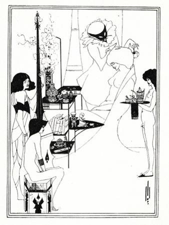 The Toilette of Salome, 1899 by Aubrey Beardsley