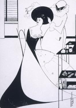 The Toilette of Salome by Aubrey Beardsley