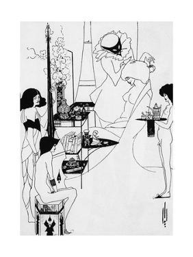 The Toilette of Salome by Aubrey Beardsley