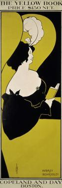"""""""The Yellow Book (...),"""" Advertisement for Magazine by Aubrey Beardsley"""