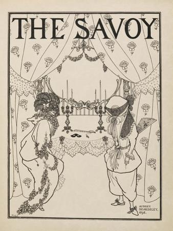 "Title Page For No.1 Of the Savoy"""" by Aubrey Beardsley"