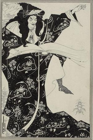 Virgilius the Sorcerer, C.1893 by Aubrey Beardsley