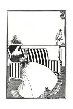 Wrapper of Catalogue of Rare Books by Aubrey Beardsley