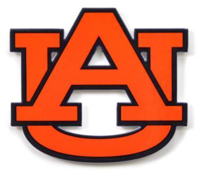 Auburn Tigers Au Steel Magnet