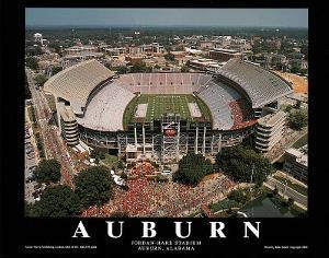 Auburn University Jordan-Hare Stadium NCAA Sports