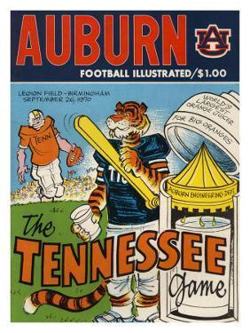 Auburn vs. Tennessee, 1970