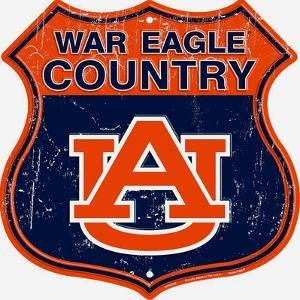Auburn War Eagle Country