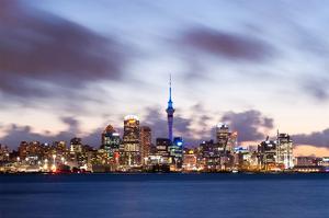 Auckland Skyline New Zealand