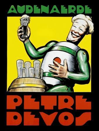 Audenaerde Petre Devos Robot Advertisement Poster
