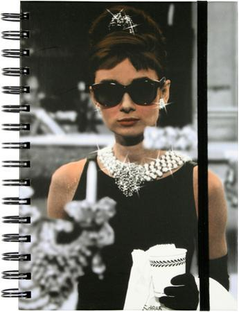 Audrey Breakfast at Tiffany's Spiral Journal