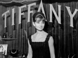 Audrey Hepburn, at a Press Event for Breakfast at Tiffany's, 1961
