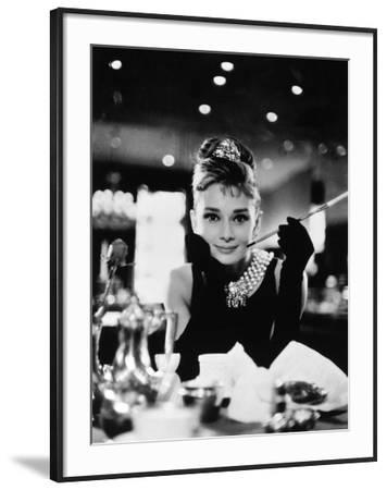 "Audrey Hepburn. ""Breakfast At Tiffany's"" 1961, Directed by Blake Edwards"