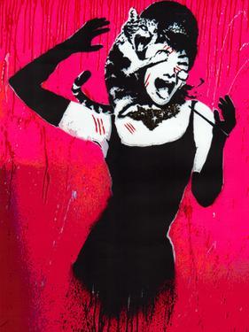 Audrey Hepburn Cat Scratch Spoof