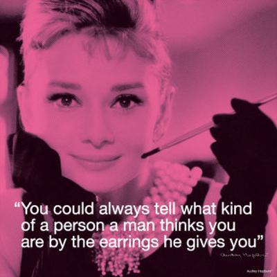 Audrey Hepburn: Earrings