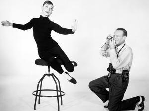 "Audrey Hepburn, Fred Astaire. ""Funny Face"" 1957, Directed by Stanley Donen"
