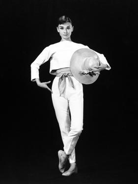"Audrey Hepburn. ""Funny Face"" 1957, Directed by Stanley Donen"