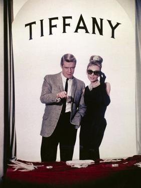 "Audrey Hepburn, George Peppard. ""Breakfast At Tiffany's"" 1961, Directed by Blake Edwards"