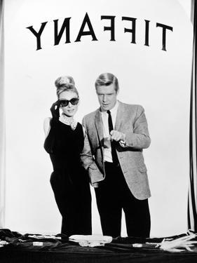 """Audrey Hepburn, George Peppard. """"Breakfast At Tiffany's"""" 1961, Directed by Blake Edwards"""