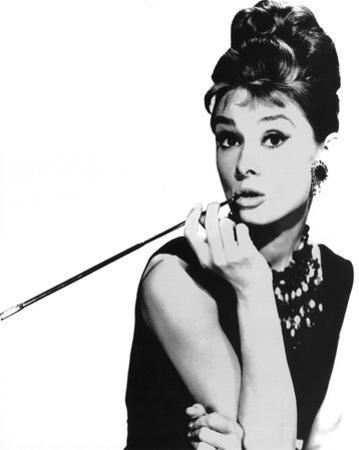 Audrey Hepburn Glossy Movie Print Poster