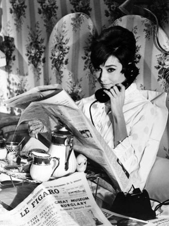 """Audrey Hepburn """"How To Steal a Million"""" 1966 Directed by William Wyler"""