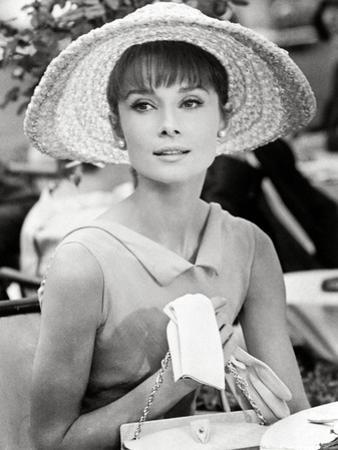 """Audrey Hepburn. """"Paris When It Sizzles"""" [1964], Directed by Richard Quine."""