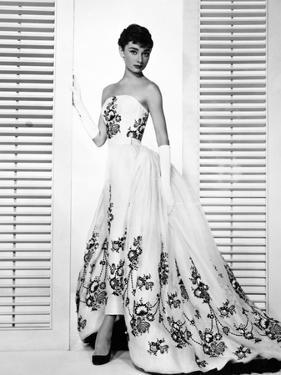 "Audrey Hepburn. ""Sabrina Fair"" 1954, ""Sabrina"" Directed by Billy Wilder. Custome by Edith Head"