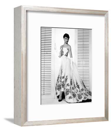 "Audrey Hepburn. ""Sabrina Fair"" 1954, ""Sabrina"" Directed by Billy Wilder. Custome by Edith Head--Framed Photographic Print"