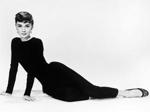 "Audrey Hepburn. ""Sabrina Fair"" 1954, ""Sabrina"" Directed by Billy Wilder. Diseñador: Givenchy"