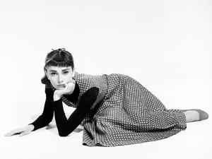 "Audrey Hepburn. ""Sabrina Fair"" 1954, ""Sabrina"" Directed by Billy Wilder"