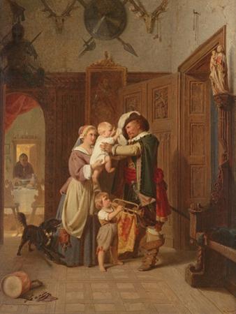 The Cavalier's Return, 1855