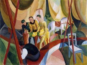 Circus, 1913 by August Macke
