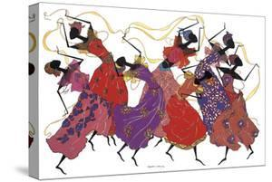Lead Dancer in Purple Gown by Augusta Asberry