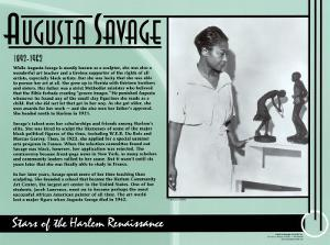 Augusta Savage by Augusta Savage