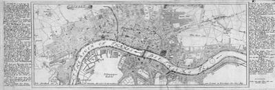 Map of London, 1700 by Augustae Vindelicorum