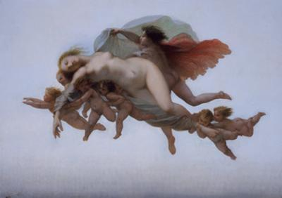 Psyche, 1856 by Auguste Barthelemy Glaize