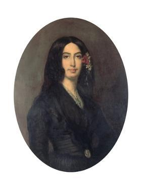 George Sand, French Novelist and Early Feminist, C1845 by Auguste Charpentier