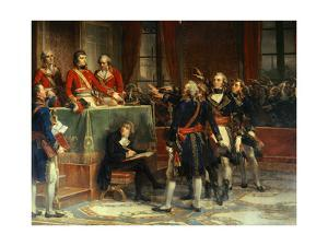 First Consul Receives the Oath the Section Presidents of the State Council, Dec. 25, 1899 by Auguste Couder