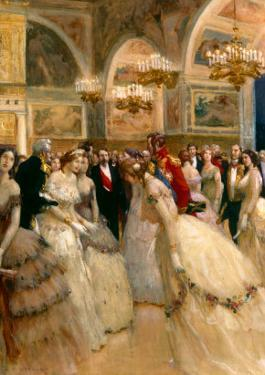 At the Ball by Auguste Francois Gorguet