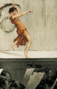 Portrait of Isadora Duncan by Auguste Francois Gorguet