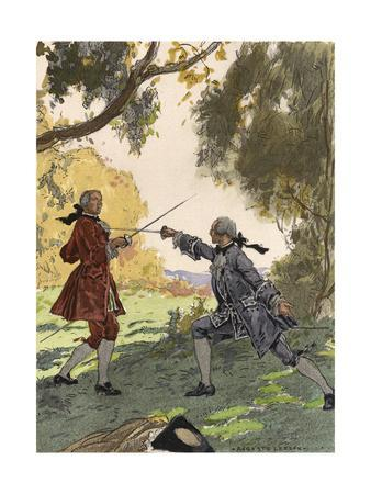 Casanova, Leroux, Fights